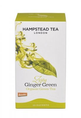 Hampstead Tea Green Ginger 20 tepåsar
