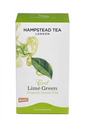 Hampstead Tea Green Lime 20 tepåsar