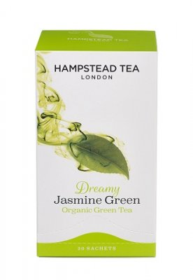 Hampstead Tea Green Jasmin 20 tepåsar