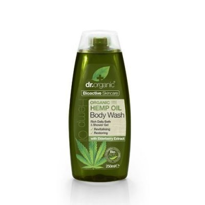 Dr.Organic Hemp Oil Body Wash 250 ml