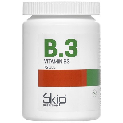 Skip B3 250 mg No Flush 75 tabletter