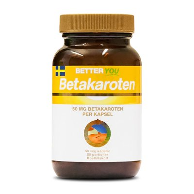 Better You Betakaroten 50 kapslar