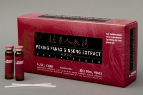 Peking Panax Ginseng Extract 2000 30 x 10mL