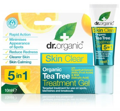 Dr.Organic Skin Clear Tea Tree Treatment Gel 10 ml