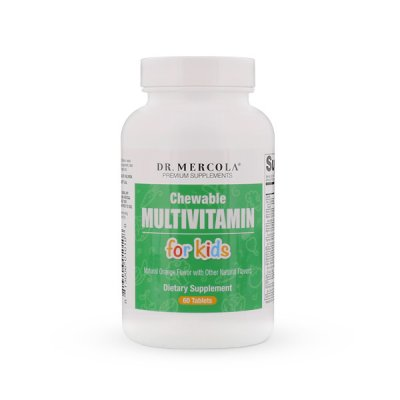 Dr. Mercola Tuggbar Multivitamin för Barn 60 tabletter