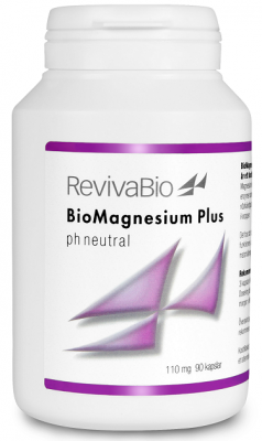 RevivaBio BioMagnesium Plus - pH neutral 90 kapslar