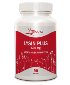 Alpha Plus Lysin Plus 90 Kapslar