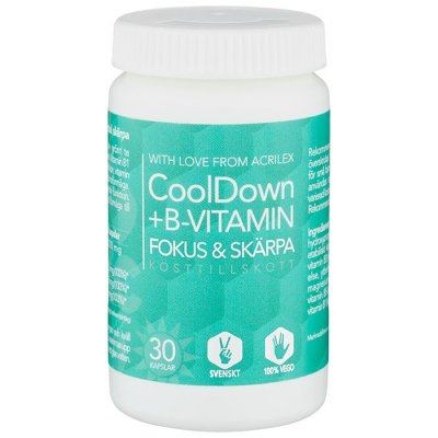 CoolDown + B-Vitamin 30 kapslar