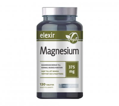 Elexir Magnesium 375 mg 120 tabletter