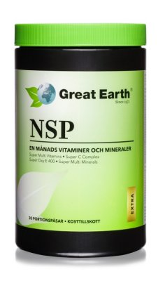 Great Earth NSP Extra Starka 30 portionspåsar
