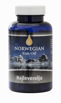 Norwegian Fish Oil Hajleverolja 120 kapslar