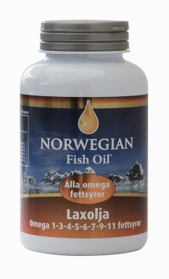 Norwegian Fish Oil Laxolja 250 kapslar