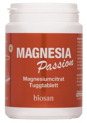 Biosan Magnesia Passion 90 tabletter