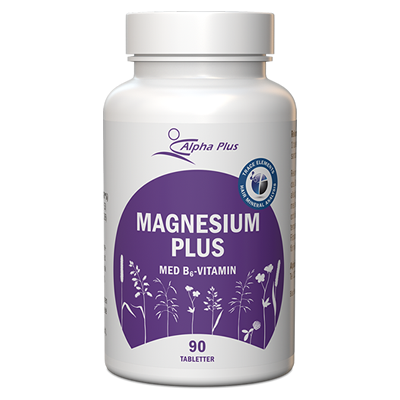 Alpha Plus MagnesiumPlus 90 tabletter