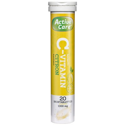 Active care C-Vitamin 1000 mg Citron 20 brustabletter