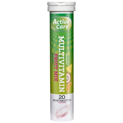 Active care Multivitamin Fruit Mix 20 brustabletter