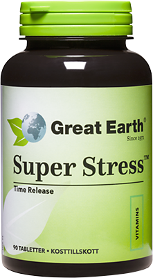 Great Earth Super Stress 600 90 tabletter