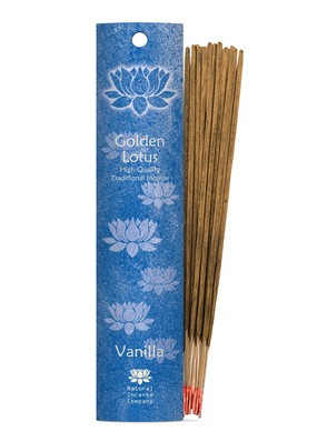 Golden Lotus Rökelse Vanilla